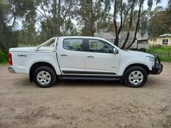 2012 Holden Colorado LTZ RG MY13 4X4 Dual Range White