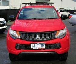 2016 Mitsubishi Triton GLX+ MQ MY17 4X4 Dual Range Red