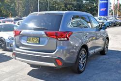 2015 Mitsubishi Outlander XLS ZK MY16 Grey