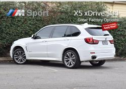 2017 BMW X5 xDrive30d F15 4X4 Constant White