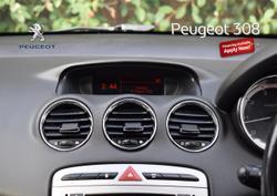 2012 Peugeot 308 Active T7 MY12 Black