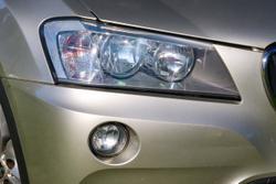 2011 BMW X3 xDrive20d F25 MY12 4X4 Constant Silver