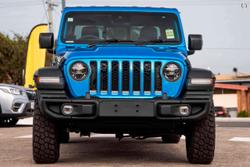 2021 Jeep Gladiator Rubicon JT MY21 V2 4X4 On Demand Blue