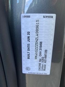 2021 VOLKSWAGEN TIGUAN 162TSI R-Line 5N Grey
