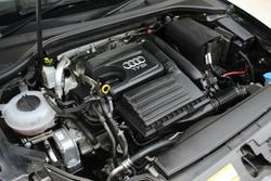 2013 Audi A3 Attraction 8P MY13 Black