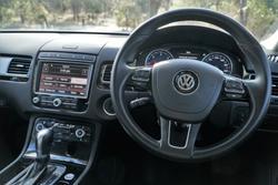 2017 Volkswagen Touareg V6 TDI Adventure 7P MY17 Four Wheel Drive Deep Black