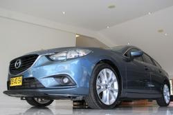 2014 Mazda 6 GT GJ MY14 Blue