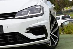 2017 Volkswagen Golf R Grid Edition 7.5 MY18 Four Wheel Drive Pure White