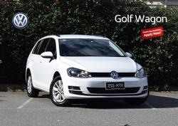 2015 VOLKSWAGEN GOLF 92TSI Trendline 7 White
