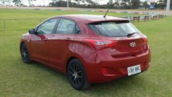2016 Hyundai i30 Active GD4 Series II MY17 Fiery Red