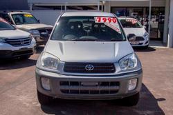 2001 Toyota RAV4 Edge ACA21R 4X4 Constant Silver