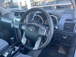 2013 Toyota Landcruiser Prado GX KDJ150R 4X4 Constant Glacier White