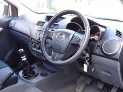 2013 Mazda BT-50 XT UP Silver