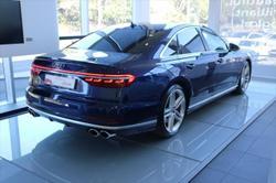 2020 Audi S8 4N MY20 Four Wheel Drive Blue