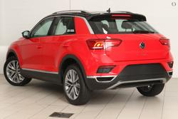 2021 VOLKSWAGEN T-ROC 110TSI Style A1 Red