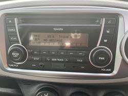 2012 Toyota Yaris YR NCP130R Silver