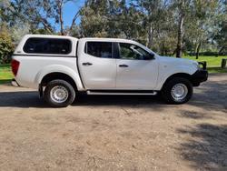 2019 Nissan Navara SL D23 Series 3 4X4 Dual Range White