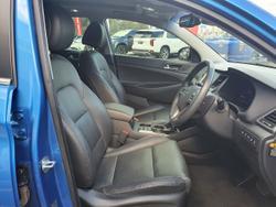 2016 Hyundai Tucson Highlander TLe MY17 AWD Blue