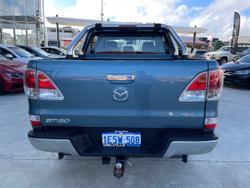 2015 Mazda BT-50 XTR Hi-Rider UP Blue