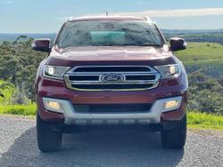 2018 Ford Everest Trend UA MY18 Red