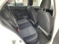 2012 Nissan Micra ST K13 WHITE