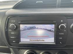 2018 Toyota Yaris Ascent NCP130R GLACIER WHITE