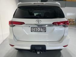 2018 Toyota Fortuner GXL GUN156R 4X4 Dual Range White