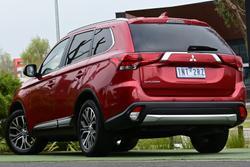 2018 Mitsubishi Outlander LS ZL MY18.5 Red