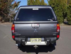 2014 Mitsubishi Triton GLX-R MN MY15 4X4 Dual Range Grey