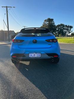 2021 Mazda 3 G25 Evolve BP Series Machine Grey