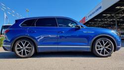 2019 Volkswagen Touareg 190TDI Launch Edition CR MY19 Four Wheel Drive Blue