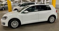 2015 Volkswagen Golf 92TSI 7 MY16 White