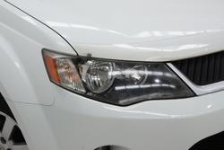 2007 Mitsubishi Outlander LS ZG MY08 4X4 On Demand White