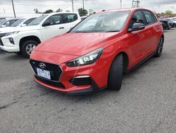 2018 Hyundai i30 N Performance PDe.2 MY18 Engine Red