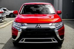 2021 Mitsubishi Outlander ES ZL MY21 Red Diamond