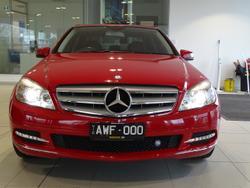 2010 Mercedes-Benz C-Class C250 CGI Avantgarde W204 MY10 Red