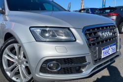 2014 Audi SQ5 TDI 8R MY14 Four Wheel Drive Silver