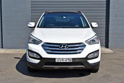 2013 Hyundai Santa Fe Highlander DM MY14 4X4 On Demand Creamy White