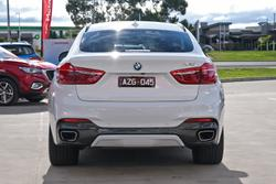 2016 BMW X6 xDrive30d F16 4X4 Constant Mineral White