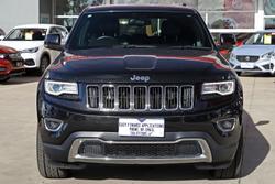 2013 Jeep Grand Cherokee Limited WK MY14 4X4 Constant Brilliant Black