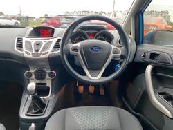 2009 Ford Fiesta Zetec WS Blue