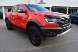2020 Ford Ranger Raptor PX MkIII MY20.75 4X4 Dual Range True Red