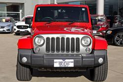 2014 Jeep Wrangler Unlimited Freedom JK MY14 4X4 Dual Range Flame Red
