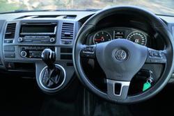 2015 Volkswagen Multivan TDI340 Comfortline T5 MY15 Black