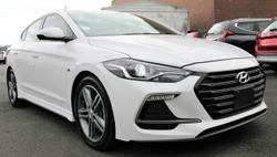 2016 Hyundai Elantra SR Turbo AD MY17 White