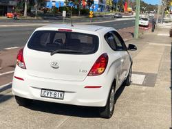 2014 Hyundai i20 Active PB MY14 White