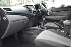 2017 Mitsubishi Triton GLX MQ MY17 Black