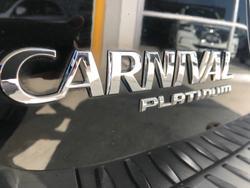 2015 Kia Carnival Platinum YP MY16 BLACK