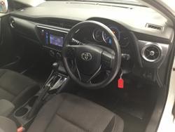 2018 Toyota Corolla Ascent ZRE182R White