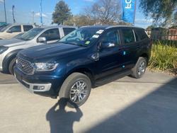 2021 Ford Everest Trend UA II MY21.75 4X4 Dual Range Deep Crystal Blue